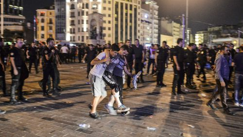A military coup is currently underway in Turkey. (AAP)