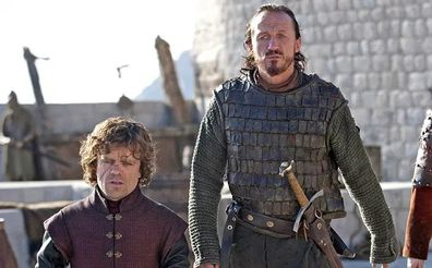 Tyrion Lannister and Bronn