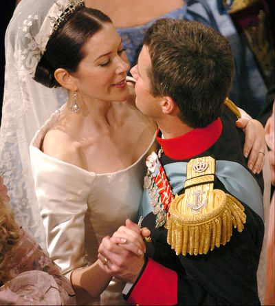 Princess Mary of Denmark's royal wedding.