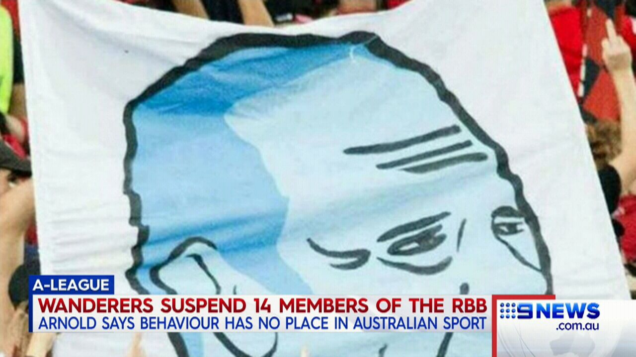 Wanderers ban fans
