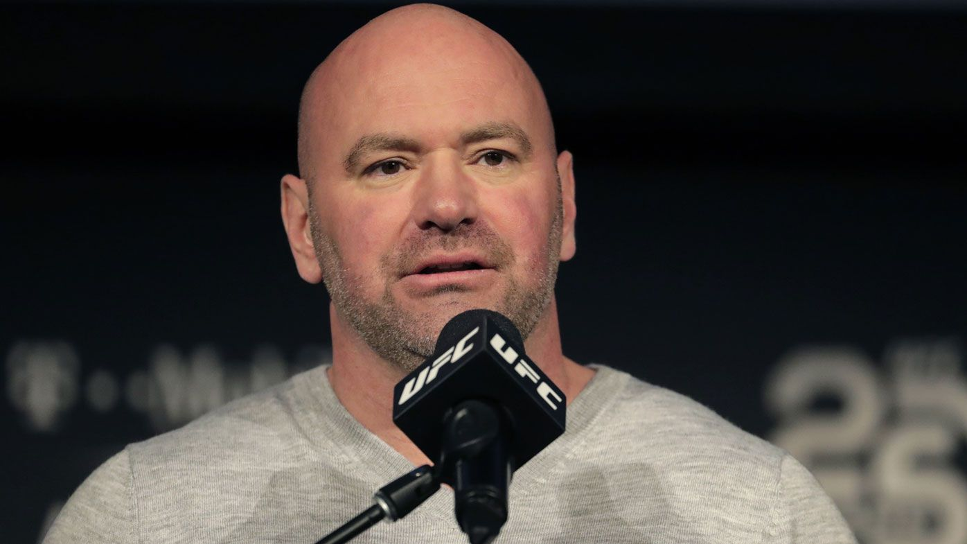UFC boss Dana White slams 'weakest, wimpiest' MMA media amid coronavirus criticism