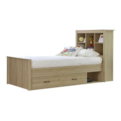"<a href=""https://www.templeandwebster.com.au/Sonama-Oak-King-Single-Bed-with-Bookshelves-and-Drawers-KFMG7506-IQFU1028.html?refid=GPAAU447-IQFU1028&amp;device=c&amp;ptid=56531790300&amp;gclid=EAIaIQobChMIqv__rPyC1gIVh2G9Ch35PQStEAkYCCABEgJ1HvD_BwE"" target=""_blank"" draggable=""false"">Temple &amp; Webster Sonama Oak King Single Bed, $499.</a>"