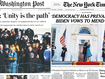 In Pictures: How the world's newspapers hailed the new President
