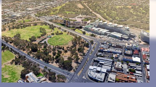 The site for Adelaide's new women's and children's hospital will be next to the existing Royal Adelaide Hospital.