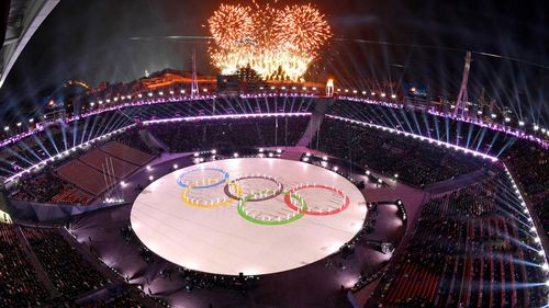 The Winter Olympic Games in Pyeongchang, South Korea have officially come to a close with the handover of the flag to Beijing, China who will host the 2022 games. (AAP)