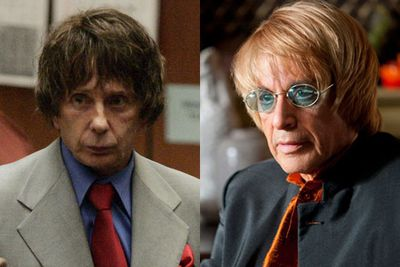 Left: Phil Spector / Right: Al Pacino