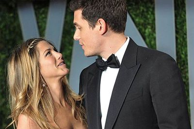 Jen's apparent taste in men took a serious nosedive when she hooked up with notorious douchebag John Mayer. Their on-again off-again relationship lasted for about a year, and considering John Mayer's reputation as a total womaniser, Jen's odd choice of boyfriend can only be explained as a last-ditch attempt to find a baby-daddy.