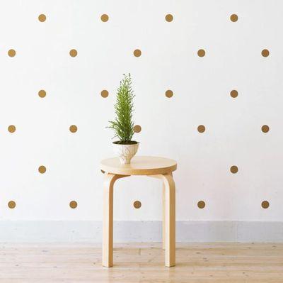 "<a href=""https://www.hardtofind.com.au/103605_polka-dots-wall-stickers"" target=""_blank"">Little Sticker Boy Polka Dot Wall Stickers, $25.</a>"