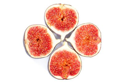 Whole figs: 16.3g sugar per 100g