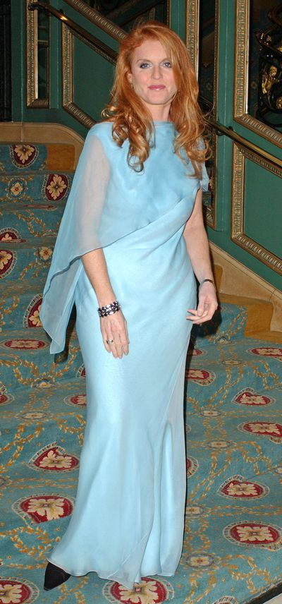 The Duchess Of York attends The Children In Crisis Fairground Extravaganza event at London's Cafe Royal.