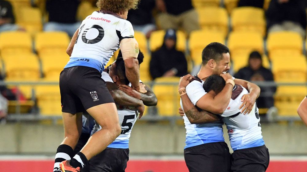 Rugby League World Cup: Fiji upset NZ in tryless quarter final