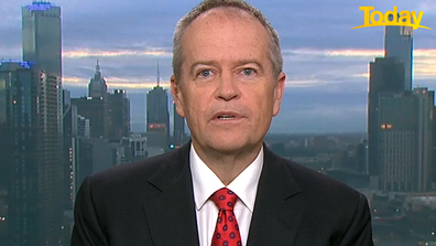 Bill Shorten said Labor wouldn't have signed the arrangements either if in government.