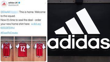 Adidas social media debacle produced racist tweets.