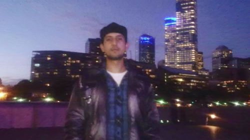 Zeeshan Akbar was studying and working to send money home to his family. (Supplied)
