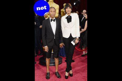 Shorts! Really Pharrell?!