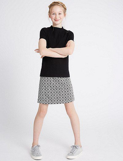 """<a href=""""http://www.marksandspencerlondon.com/au/2-piece-top-and-skirt-outfit-3-14-years/p/P60091096.html?dwvar_P60091096_color=Y4"""" target=""""_blank"""" draggable=""""false"""">Marks &amp; Spencer London 2-piece set, $39.</a>"""
