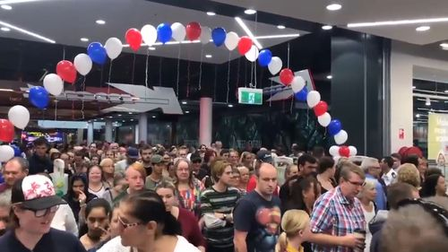 Over 150 people have already been employed by the retail giant. (9NEWS)