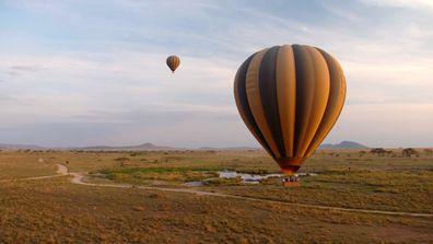 Serengeti from above
