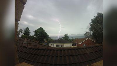 A lightning strike. (Scott Hajinakitas)