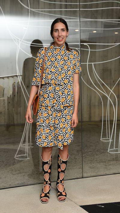 <p>Fashion editorEnrica Ponzellini.</p>