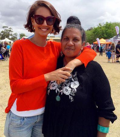 Brooke Boney and mother Leonie Boney