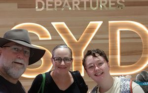 Globetrotting Darwin family released after eight weeks in isolation