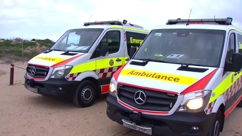 The man could not be revived after he was winched to shore.