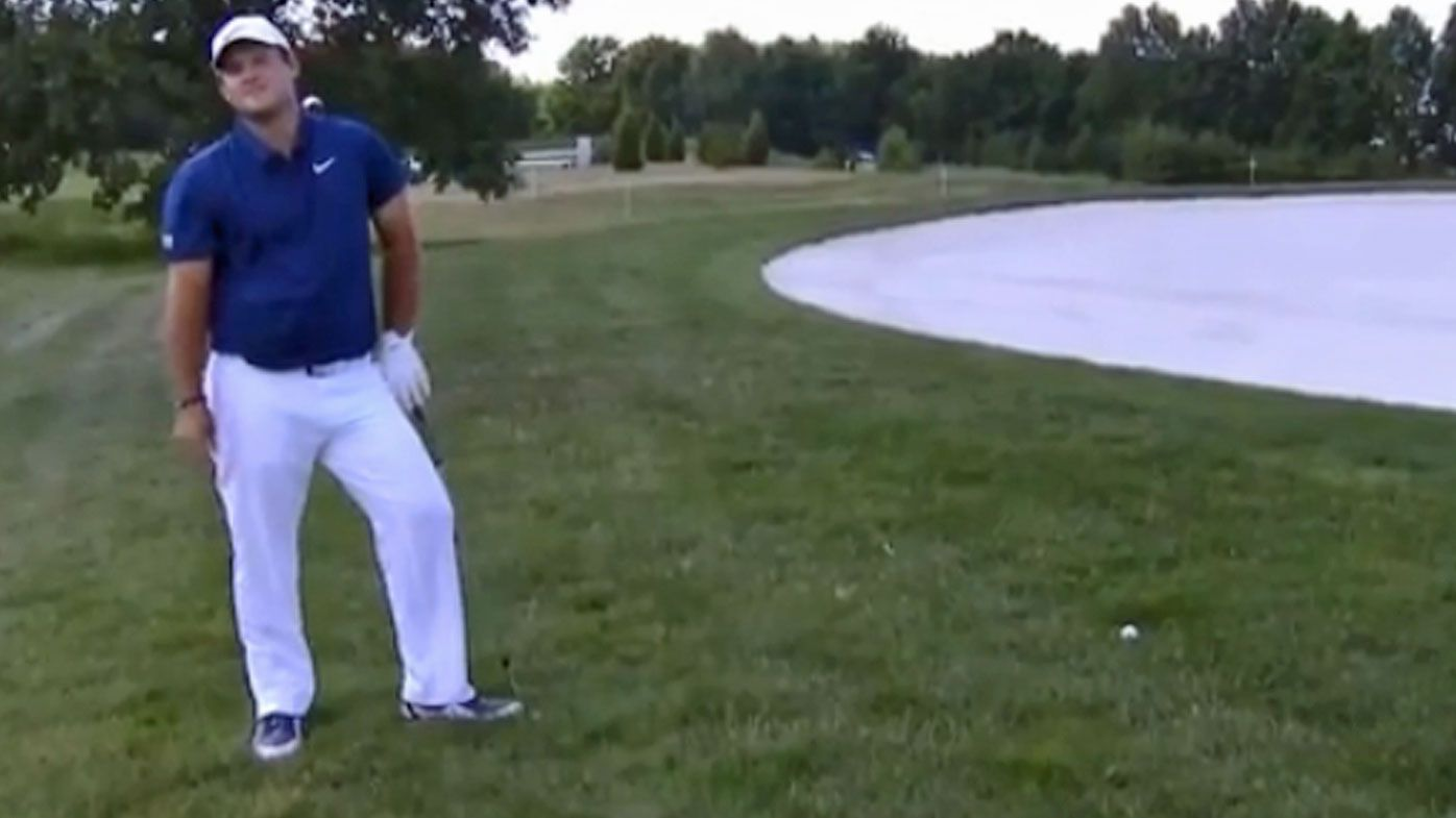 Patrick Reed loses his cool at cameraman during European Tour event
