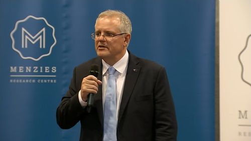 Prime Minister Scott Morrison has delivered his first headline speech as leader of the government.