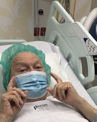 Bert Newton was hospitalised in November 2020.