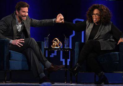 Bradley Cooper and Oprah Winfrey