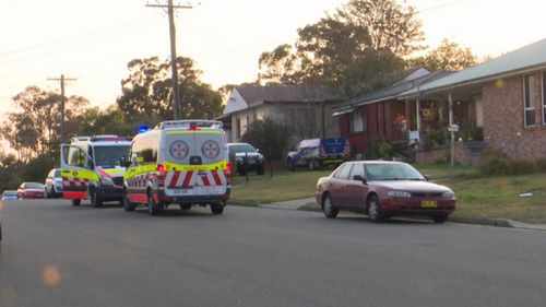 A five-year-old child has been rushed to hospital after accidentally strangling herself with a cord.