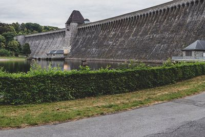 Möhne Reservoir in Germany, 2018