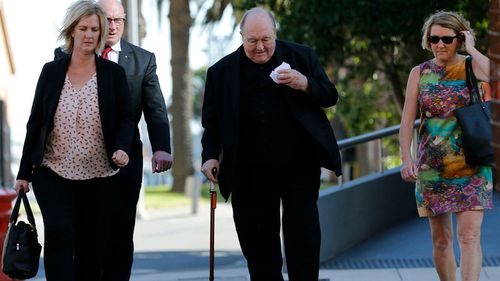 Archbishop Wilson's trial has ended, with a verdict due to come in May. (AAP)