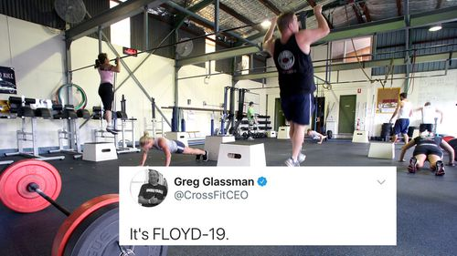One of the tweets from CrossFit CEO Greg Glassman about George Floyd and the current Black Lives Matter protests happening around the US.