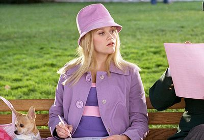 <p><strong>6.</strong> A lesson in pastel hues- <em>Legally Blonde 2: Red, White & Blonde</em> 2003</p> <p>By the time the film's second around Elle had taken her love of high-voltage pink down a notch and instead favored soft, dreamy  pink and purple hues. </p> <p> </p>