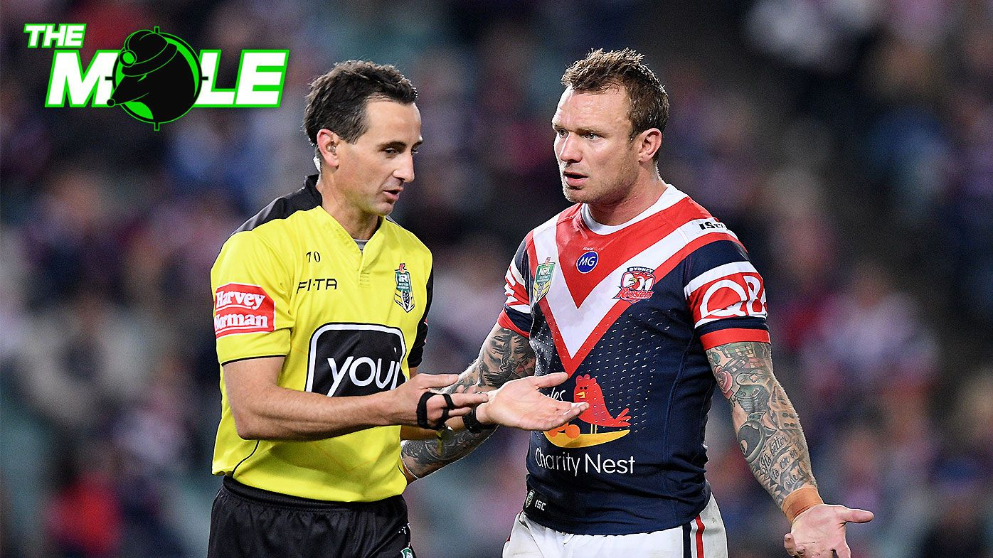 The referees' 'peace' deal with NRL revealed ahead of 2019 season