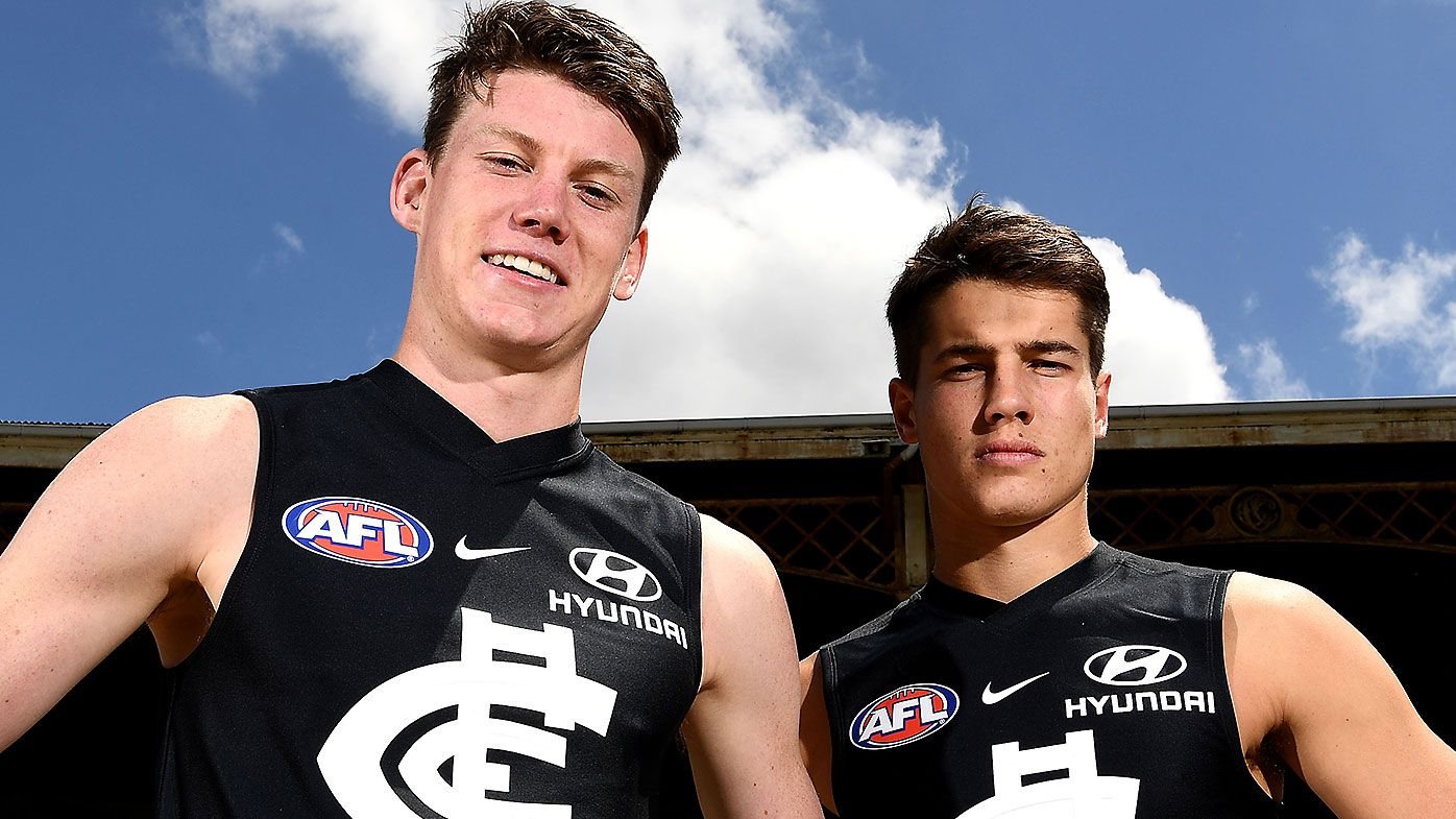 No.1 pick Sam Walsh reportedly nearing on long-term extension with Carlton