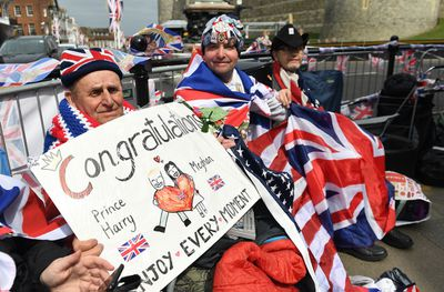 <strong>Royal watchers gather three days out from Royal Wedding</strong>