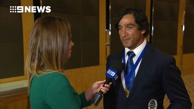 NRL: North Queensland Cowboys' Johnathan Thurston awarded 2017 Human Rights Medal