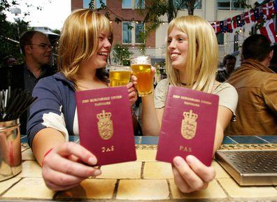 Denmark passports