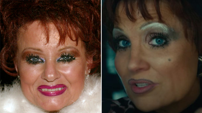 Jessica Chastain stars in the new biopic The Eyes of Tammy Faye.