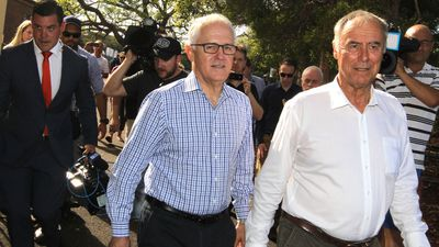 Turnbull on his toes as federal majority threatened