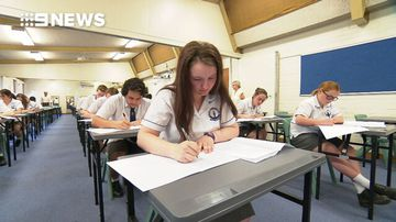 Year 12 students sit first HSC exams