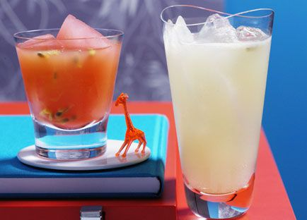 Passionfruit and Ruby Grapefruit Punch
