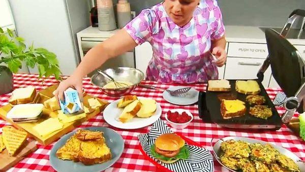 Jane de Graaff's sandwich press hacks on Today Show