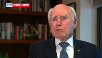 Former prime minister John Howard, who sent Australian troops to Afghanistan in 2001.