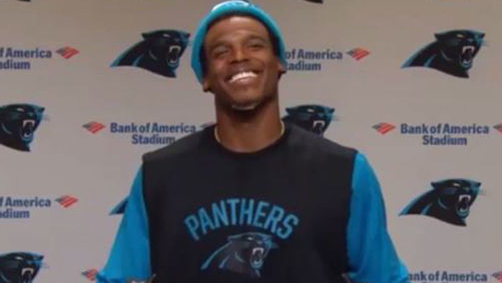 NFL: Carolina Panthers quarterback Cam Newton patronises female reporter after 'funny' question