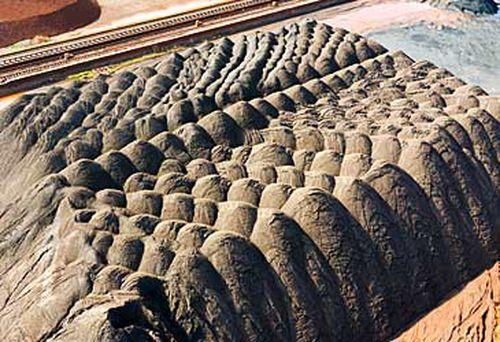 Australia iron ore delivered to Suzhou, China (Getty)