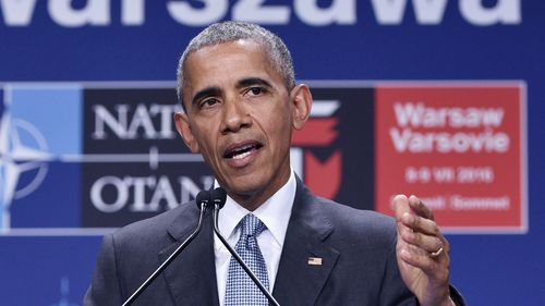 US President Barack Obama calms fears of divided nation following last week's shootings